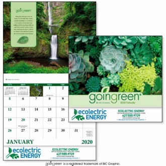 Living Green Tips Calendar for Refuse & Recycling Company